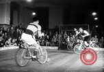 Image of Bicycle polo Austria, 1952, second 6 stock footage video 65675029296