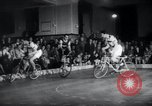 Image of Bicycle polo Austria, 1952, second 9 stock footage video 65675029296