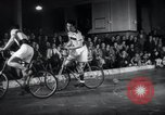 Image of Bicycle polo Austria, 1952, second 11 stock footage video 65675029296
