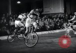 Image of Bicycle polo Austria, 1952, second 12 stock footage video 65675029296