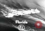 Image of water skiing Florida United States USA, 1958, second 2 stock footage video 65675029297