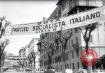 Image of Parliamentary elections Italy, 1958, second 8 stock footage video 65675029299