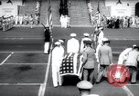 Image of bodies of unknown soldiers Washington DC USA, 1958, second 10 stock footage video 65675029300