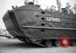 Image of amphibious vehicle LVT(U)X2 Goliath Seattle Washington USA, 1958, second 6 stock footage video 65675029304