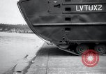 Image of amphibious vehicle LVT(U)X2 Goliath Seattle Washington USA, 1958, second 9 stock footage video 65675029304