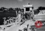 Image of bathing caps Florida United States USA, 1958, second 10 stock footage video 65675029305