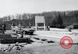 Image of Amphicar testing the U.S. Long Island New York USA, 1960, second 8 stock footage video 65675029308