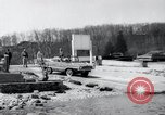 Image of Amphicar testing the U.S. Long Island New York USA, 1960, second 9 stock footage video 65675029308