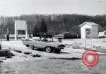 Image of Amphicar testing the U.S. Long Island New York USA, 1960, second 11 stock footage video 65675029308