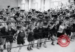Image of child boxing tournament Annapolis Maryland USA, 1960, second 10 stock footage video 65675029309