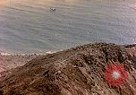 Image of volcano crater Iwo Jima, 1945, second 2 stock footage video 65675029314