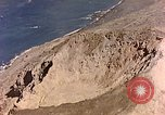 Image of volcano crater Iwo Jima, 1945, second 11 stock footage video 65675029314