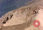 Image of volcano crater Iwo Jima, 1945, second 12 stock footage video 65675029314