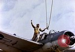 Image of American OS2U Kingfisher Iwo Jima, 1945, second 10 stock footage video 65675029318