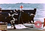 Image of Wounded US Marines on D-Day of Iwo Jima Iwo Jima, 1945, second 8 stock footage video 65675029319