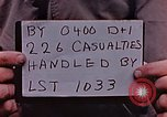 Image of Wounded Marines of Iwo Jima Iwo Jima, 1945, second 3 stock footage video 65675029323