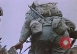 Image of artillery shelling Iwo Jima, 1945, second 2 stock footage video 65675029326