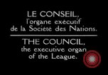 Image of Council meeting Geneva Switzerland, 1926, second 9 stock footage video 65675029345