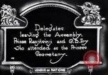 Image of delegates leave Geneva Switzerland, 1920, second 8 stock footage video 65675029350