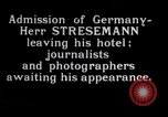 Image of Herr Stresemann Geneva Switzerland, 1926, second 1 stock footage video 65675029362