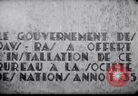 Image of speech on League of Nations Geneva Switzerland, 1936, second 6 stock footage video 65675029414