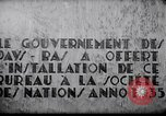Image of speech on League of Nations Geneva Switzerland, 1936, second 9 stock footage video 65675029414