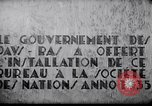 Image of speech on League of Nations Geneva Switzerland, 1936, second 10 stock footage video 65675029414