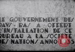 Image of speech on League of Nations Geneva Switzerland, 1936, second 11 stock footage video 65675029414