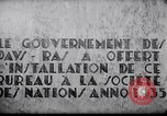 Image of speech on League of Nations Geneva Switzerland, 1936, second 12 stock footage video 65675029414