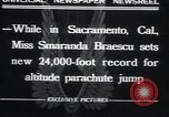 Image of Smaranda Braescu Sacramento California USA, 1932, second 5 stock footage video 65675029417