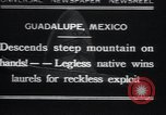 Image of legless man Guadalupe Mexico, 1932, second 1 stock footage video 65675029420