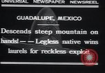 Image of legless man Guadalupe Mexico, 1932, second 7 stock footage video 65675029420