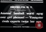 Image of baseball Brooklyn New York City USA, 1932, second 6 stock footage video 65675029421