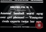 Image of baseball Brooklyn New York City USA, 1932, second 7 stock footage video 65675029421