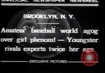 Image of baseball Brooklyn New York City USA, 1932, second 8 stock footage video 65675029421