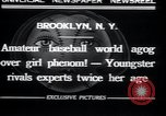Image of baseball Brooklyn New York City USA, 1932, second 9 stock footage video 65675029421