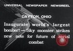 Image of Boeing Y1B-9  bomber being publicly demonstrated  Dayton Ohio USA, 1932, second 2 stock footage video 65675029425
