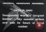 Image of Boeing Y1B-9  bomber being publicly demonstrated  Dayton Ohio USA, 1932, second 3 stock footage video 65675029425