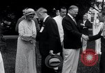 Image of war veterans greet Hoover Washington DC USA, 1932, second 10 stock footage video 65675029426
