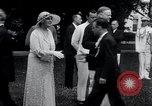 Image of war veterans greet Hoover Washington DC USA, 1932, second 11 stock footage video 65675029426