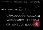 Image of Amelia Earhart New York United States USA, 1932, second 1 stock footage video 65675029428