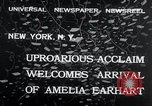 Image of Amelia Earhart New York United States USA, 1932, second 4 stock footage video 65675029428