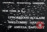 Image of Amelia Earhart New York United States USA, 1932, second 5 stock footage video 65675029428