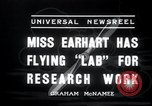 Image of Amelia Earhart Burbank California USA, 1936, second 3 stock footage video 65675029434