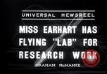 Image of Amelia Earhart Burbank California USA, 1936, second 8 stock footage video 65675029434