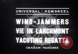 Image of sailing boats Larchmont New York USA, 1936, second 5 stock footage video 65675029436