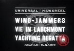 Image of sailing boats Larchmont New York USA, 1936, second 7 stock footage video 65675029436