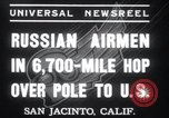 Image of Soviet Airmen San Jacinto California USA, 1937, second 8 stock footage video 65675029452