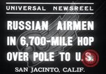 Image of Soviet Airmen San Jacinto California USA, 1937, second 9 stock footage video 65675029452