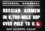 Image of Soviet Airmen San Jacinto California USA, 1937, second 11 stock footage video 65675029452